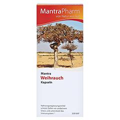 MANTRA Weihrauch Kapseln Vitamin E Zink u.Selen 200 Stück - Vorderseite