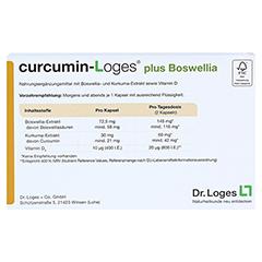 curcumin-Loges plus Boswellia 60 Stück - Rückseite