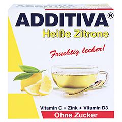 ADDITIVA heiße Zitrone ohne Zucker Sachets 100 Gramm - Vorderseite
