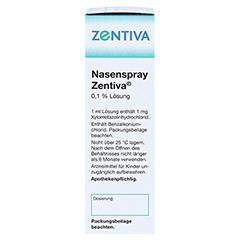Nasenspray Zentiva 10 Milliliter N1 - Linke Seite