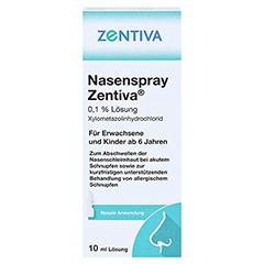 Nasenspray Zentiva 10 Milliliter N1 - Vorderseite