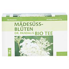 MÄDESÜSSBLÜTEN Dr.Pandalis Bio Tee Filterbeutel 20 Stück - Vorderseite