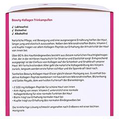 SANHELIOS Beauty Kollagen Trinkampullen 30 Stück - Rechte Seite