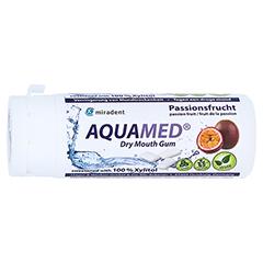 MIRADENT Aquamed Mundtrockenheit Kaugummi 30 Gramm - Linke Seite
