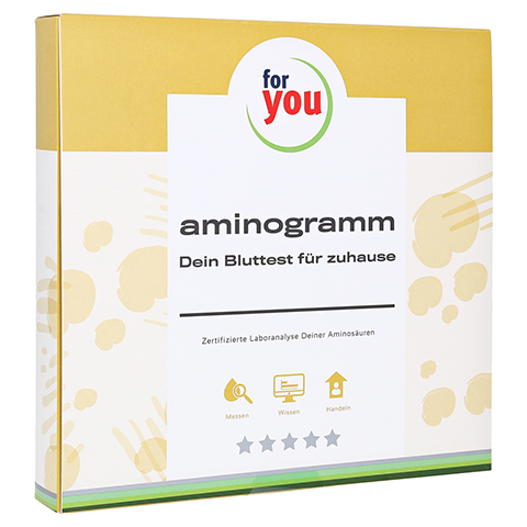 FOR YOU aminogramm Test 1 Stück