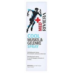 RIVIERA MED+ Cool Spray 100 Milliliter - Rückseite