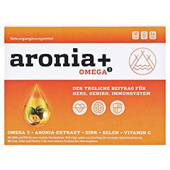 ARONIA+ OMEGA 3 Kapseln 30 Stück - Vorderseite
