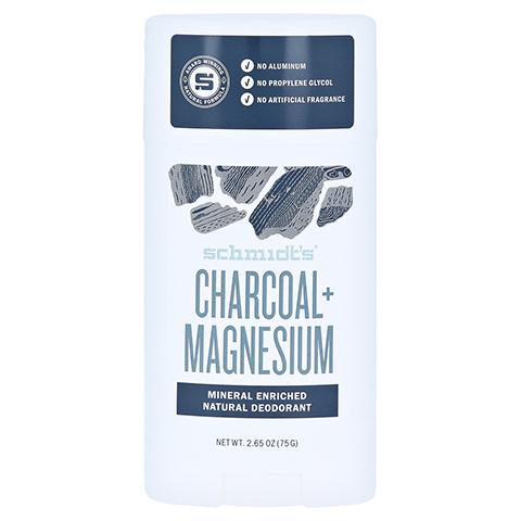 SCHMIDTS Deo Stick Signature Charcoal & Magnesium 75 Gramm