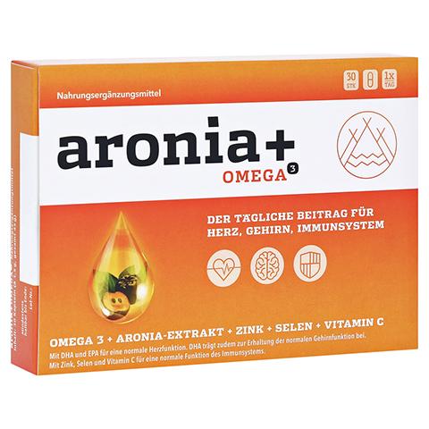 ARONIA+ OMEGA 3 Kapseln 30 Stück