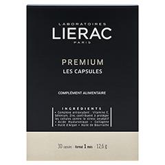 LIERAC Premium die Kapseln + gratis Lierac Kosmetiktasche 30 Stück - Vorderseite