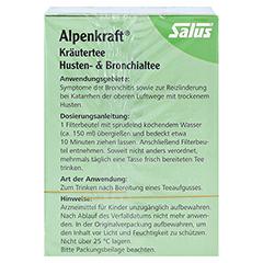 ALPENKRAFT Husten- und Bronchialtee Salus Fbtl. 15 Stück - Rechte Seite