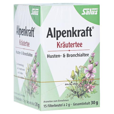 ALPENKRAFT Husten- und Bronchialtee Salus Fbtl. 15 Stück