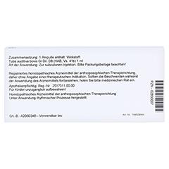 TUBA AUDITIVA GL D 8 Ampullen 10x1 Milliliter N1 - Rückseite