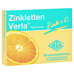 Zinkletten Verla Orange Lutschtabletten 50 Stück