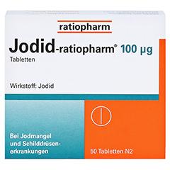 Jodid-ratiopharm 100µg 50 Stück N2 - Vorderseite