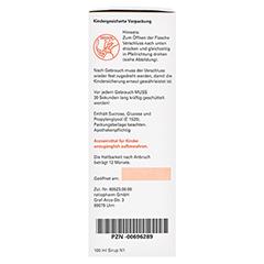 IBU-ratiopharm Fiebersaft für Kinder 40mg/ml 100 Milliliter N1 - Rechte Seite
