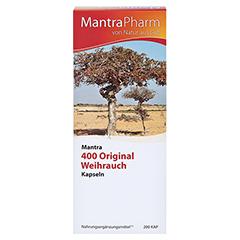MANTRA 400 Original Weihrauch Kapseln 200 Stück - Vorderseite