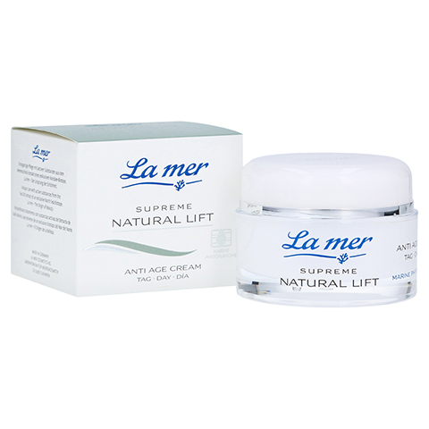 LA MER SUPREME Natural Lift Anti Age Cream Tag 50 Milliliter