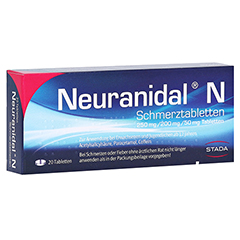 Neuranidal N Schmerztabletten 20 Stück N2
