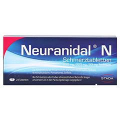 Neuranidal N Schmerztabletten 20 Stück N2 - Vorderseite