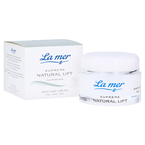 LA MER SUPREME Natural Lift Anti Age Cream Tag ohne Parfüm 50 Milliliter