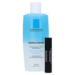 ROCHE POSAY Respect.Augen Make-up Entferner + gratis La Roche Posay Mascara 125 Milliliter