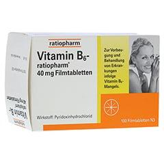 VITAMIN B6-ratiopharm 40 mg Filmtabletten 100 Stück N3