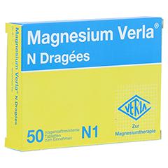 MAGNESIUM VERLA N Dragees 50 Stück N1
