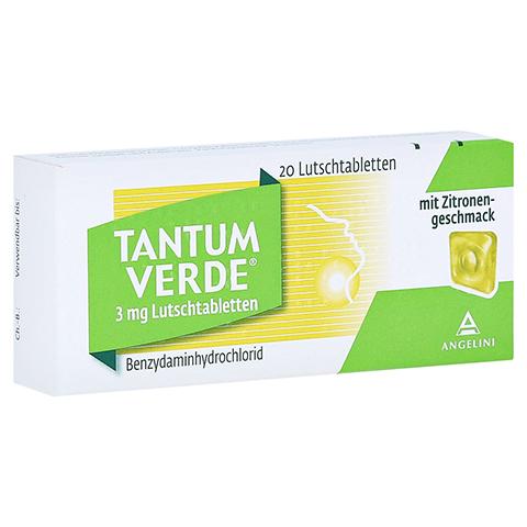 TANTUM VERDE 3 mg Lutschtabl.m.Zitronengeschmack 20 Stück N1