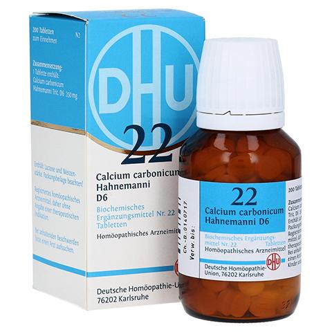 BIOCHEMIE DHU 22 Calcium carbonicum D 6 Tabletten 200 Stück N2