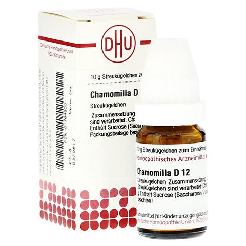 CHAMOMILLA D 12 Globuli 10 Gramm N1