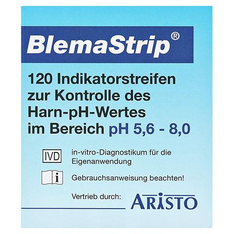 Blemastrip pH 5,6-8,0 Teststreifen 120 St