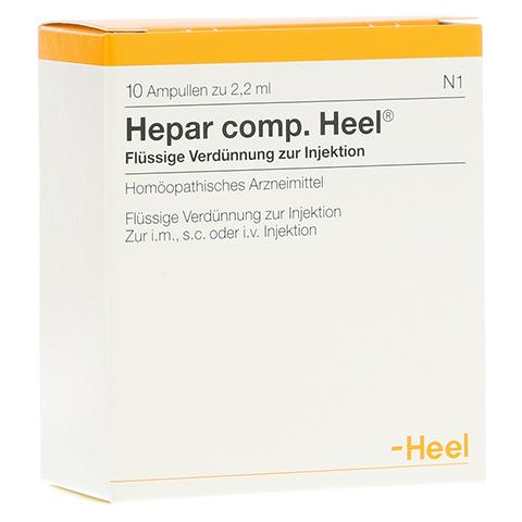HEPAR COMP.Heel Ampullen 10 Stück N1