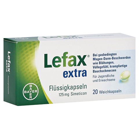 Lefax Extra Flüssigkapseln 20 Stück