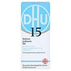 BIOCHEMIE DHU 15 Kalium jodatum D 6 Tabletten 200 Stück N2 - Vorderseite