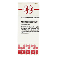 APIS MELLIFICA C 30 Globuli 10 Gramm N1 - Vorderseite