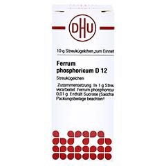 FERRUM PHOSPHORICUM D 12 Globuli 10 Gramm N1 - Vorderseite