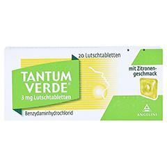 TANTUM VERDE 3 mg Lutschtabl.m.Zitronengeschmack 20 Stück N1 - Vorderseite