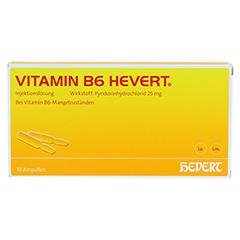 VITAMIN B6 HEVERT Ampullen 10x2 Milliliter N2 - Vorderseite