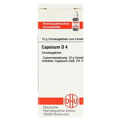 CAPSICUM D 4 Globuli 10 Gramm N1 - Vorderseite