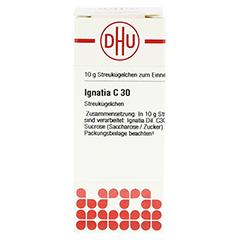 IGNATIA C 30 Globuli 10 Gramm N1 - Vorderseite