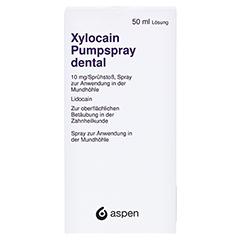 XYLOCAIN PUMPSPRAY DENTAL 50 Milliliter N2 - Vorderseite