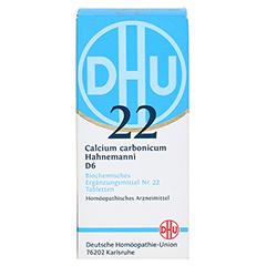 BIOCHEMIE DHU 22 Calcium carbonicum D 6 Tabletten 200 Stück N2 - Vorderseite