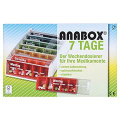 ANABOX 7 Tage Regenbogen 1 Stück - Vorderseite