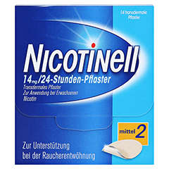 Nicotinell 35mg/24Stunden 14 Stück - Vorderseite
