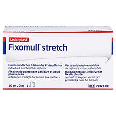 Fixomull Stretch 10 cmx2 m 1 Stück - Vorderseite