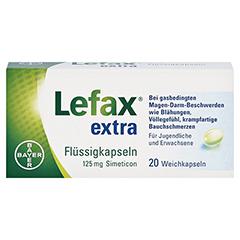 Lefax Extra Flüssigkapseln 20 Stück - Vorderseite