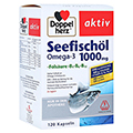 DOPPELHERZ Seefischöl Omega-3 1000 mg+Fols. Kaps. 120 Stück