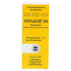 NOTAKEHL D 4 Kapseln 20 Stück N1 - Vorderseite