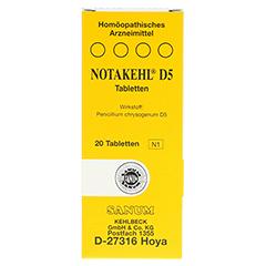 NOTAKEHL D 5 Tabletten 20 Stück N1 - Vorderseite
